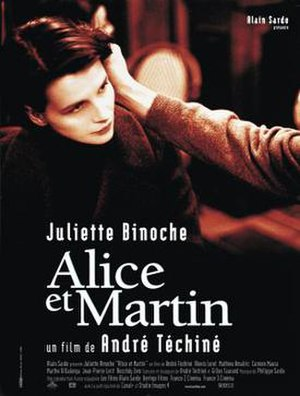 Alice and Martin - Theatrical release poster