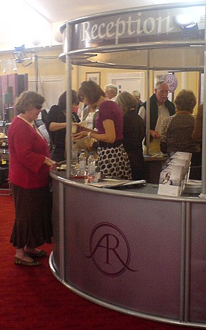 Antiques Roadshow - Fiona Bruce on reception at the Antiques Roadshow