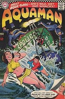 Aquagirl name of several DC comics characters