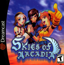North American Dreamcast cover art