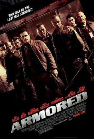 Armored (film) - Theatrical release poster