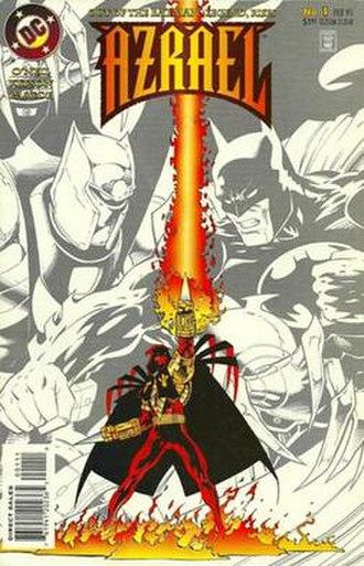 Azrael (comic book) - Image: Azrael v 1 01
