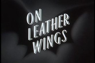 On Leather Wings - Image: Batman on leather wings