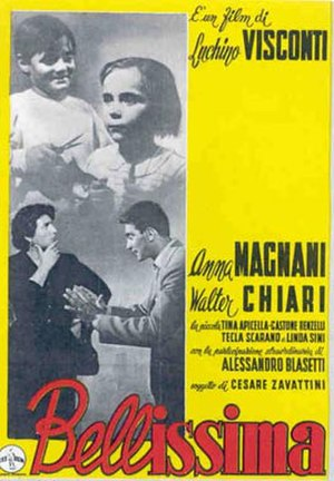 Bellissima (film) - Theatrical release poster