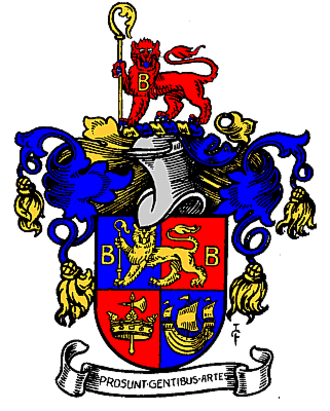 Metropolitan Borough of Bermondsey - The Arms of The Metropolitan Borough of Bermondsey