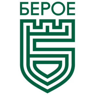 PFC Beroe Stara Zagora - The centenary crest used during the 2016–17 season.
