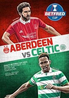 2016 Scottish League Cup Final (November)