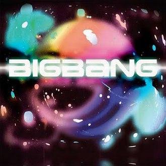 Big Bang (2009 album) - Image: Bigbangjapalbum