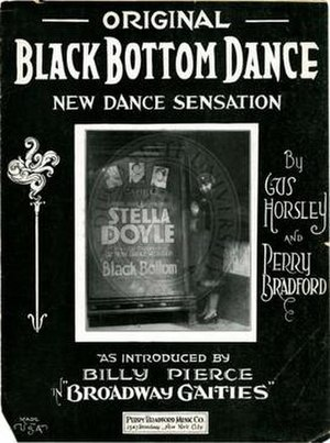"Black Bottom (dance) - Sheet music for the ""new dance sensation"", the black bottom"