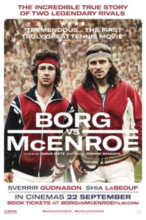 Borg McEnroe - Theatrical release poster