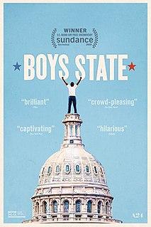 <i>Boys State</i> (film) 2020 documentary film directed by Jesse Moss and Amanda McBaine