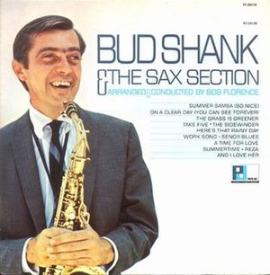 Bud Shank & the Sax Section - Image: Bud Shank & the Sax Section