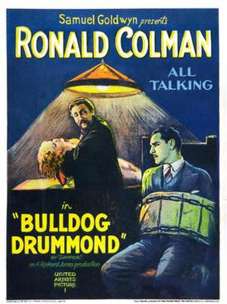 Bulldog Drummond (1929 film) - movie poster