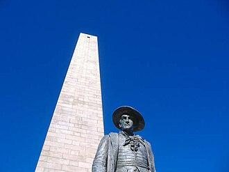 Bunker Hill Monument - Image: Bunker Hill 2007