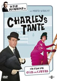 <i>Charleys Aunt</i> (1963 film) 1963 film by Géza von Cziffra