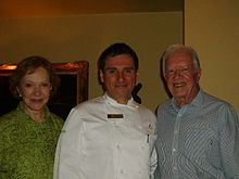 Chef Gianfranco with President Carter and former first Lady Rosalyn Carter.jpg