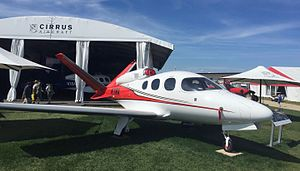 Very light jet - The Cirrus Vision SF50 is the only single-engine VLJ currently certified with the FAA