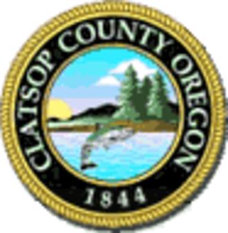 Clatsop County, Oregon - Image: Clatsop County seal