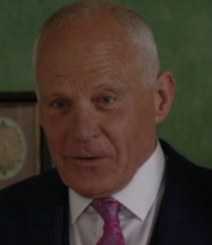Colin Russell (EastEnders) - Cashman as Colin in 2016.