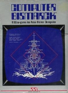 <i>Computer Bismarck</i> naval computer wargame