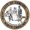 Official seal of Concord, North Carolina