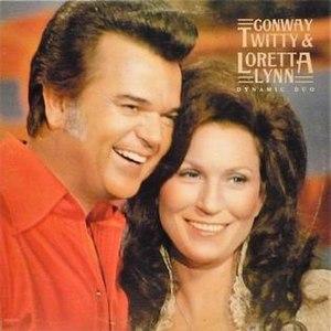 Dynamic Duo (Loretta Lynn and Conway Twitty album) - Image: Conway Loretta Dynamic Duo
