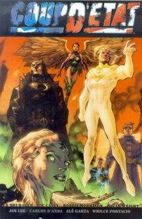 Coup detat (comics) comic book
