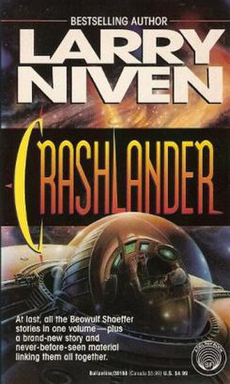 Crashlander - First edition, published by Del Rey Books. Cover art by Don Dixon.