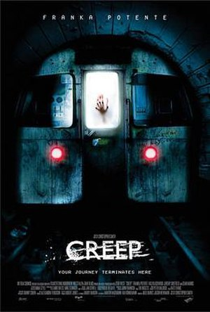 Creep (2004 film) - Theatrical release poster