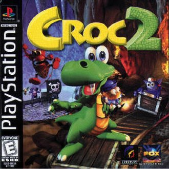 Croc 2 - The game's cover art.