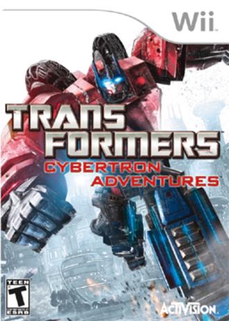 Transformers: Cybertron Adventures - North American box art