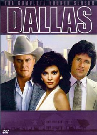 Dallas (1978 TV series) (season 4) - Image: Dallas (1978) Season 4 DVD cover