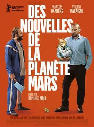 News from Planet Mars - Theatrical release poster