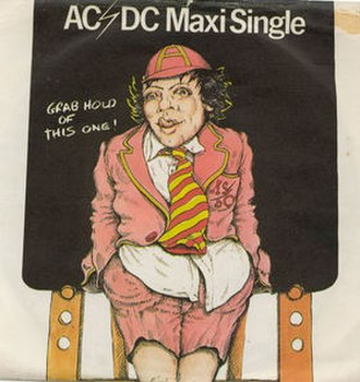 Dirty Deeds Done Dirt Cheap (song) - Image: Dirty Deeds ACDC UK single