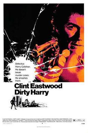 Dirty Harry - Theatrical release poster by Bill Gold