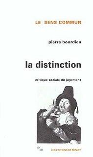 <i>Distinction</i> (book) book