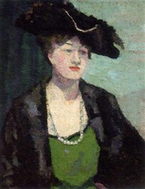 Dorothy A. Cadman - Dorothy Cadman self portrait