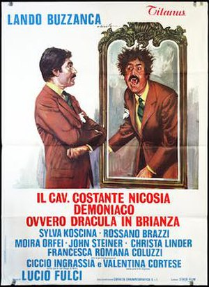 Dracula in the Provinces - Italian theatrical release poster