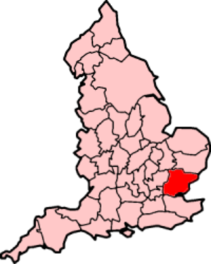 History of Essex - Ancient extent of Essex