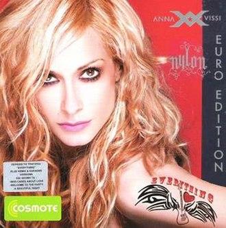 Nylon (album) - Image: Euro edition Nylon