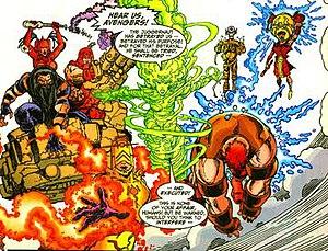 Exemplars (comics) - Image: Exemplars 1