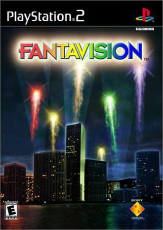Fantavision (video game) - North American cover art