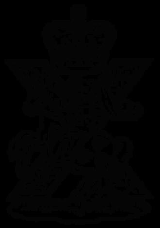 Fife and Forfar Yeomanry/Scottish Horse - Cap badge of the Fife and Forfar Yeomanry/Scottish Horse