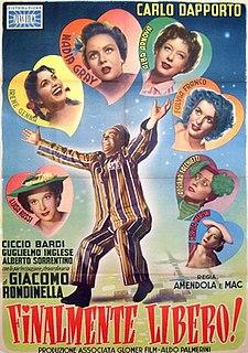 <i>Finalmente libero!</i> 1953 film by Mario Amendola, Ruggero Maccari