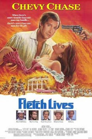 Fletch Lives - Theatrical release poster