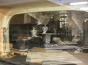Follies - Model of set design by Boris Aronson