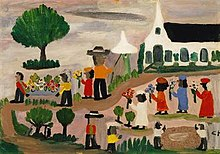Funeral Procession Painting By Clementine Hunter Wikipedia