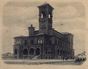 United States District Court for the Eastern District of Texas - Image: Galveston Texas Federal Building 1891
