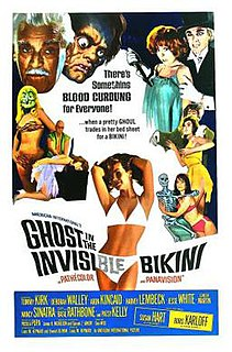 <i>The Ghost in the Invisible Bikini</i> 1966 film by Don Weis