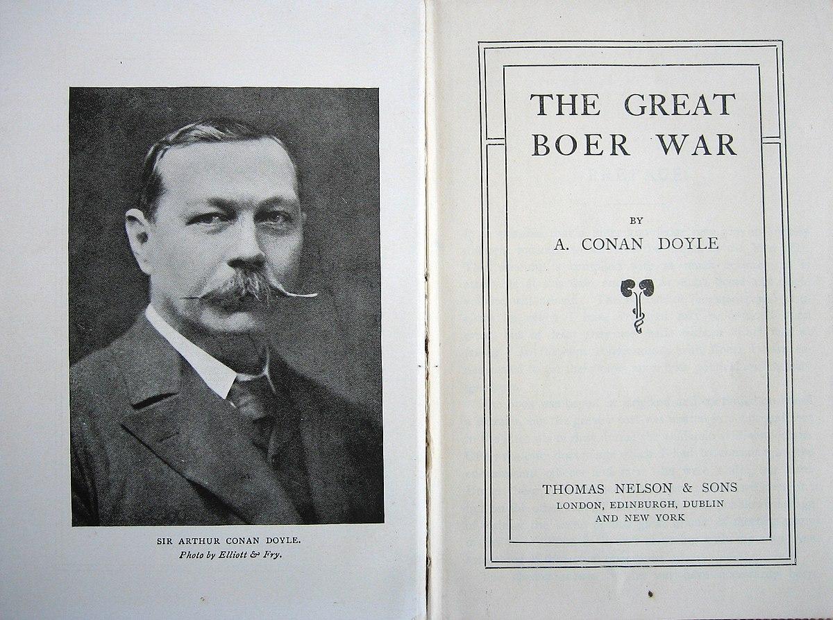 Resultado de imagem para A Grande Guerra Bôer conan doyle